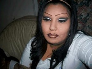 Looks soo real! (I hope she doesn't read this and come after me and shave off my eyebrows too.)