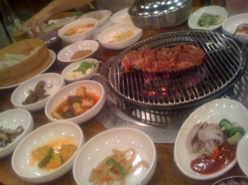 Heaven is real, and it's at a Korean BBQ restaurant.