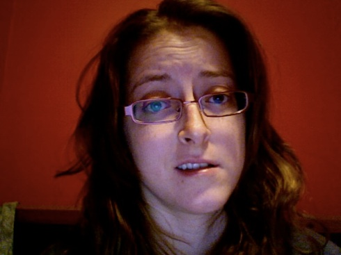 "This is my ""please sympathize with me, invisible/nonexistent audience"" face."