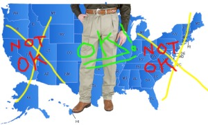 Official Khaki Pants Map