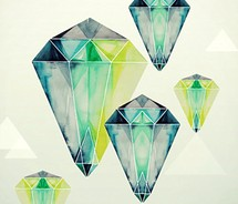 color,diamond,gem,illustration,jewel,stone,watercolor-d11343d5af45956245231ad49a365232_m