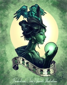 Wicked-Witch-pinup-pin-up-tattoo
